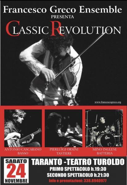 FrancescoGrecoEnsemble-Classic Revolution