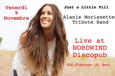 Just a Little Pill - Alanis Morissette Tribute Band in concerto