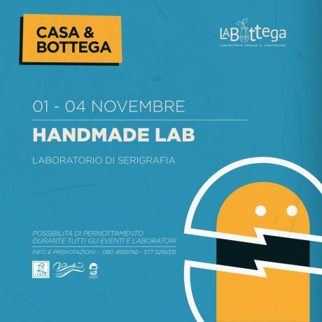 Workshop di serigrafia - Casa&Bottega Handmade Lab