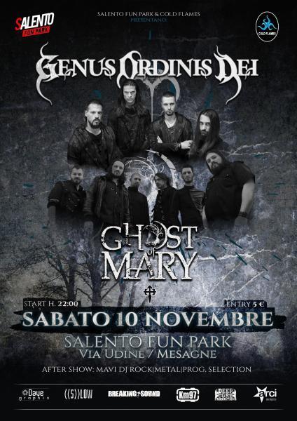 Genus Ordinis Dei + Ghost of Mary @ Salento Fun Park