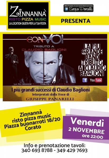 CON VOI - tributo a Claudio Baglioni a Corato