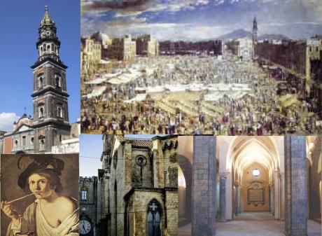 SABATO 3 NOVEMBRE 2018  I LUOGHI DELLA RIVOLTA DI MASANIELLO DEL 1647 E DELLA REPUBBLICA PARTENOPEA DEL 1799