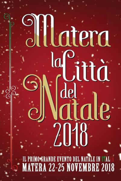 MATERA LA CITTA' DEL NATALE 2018