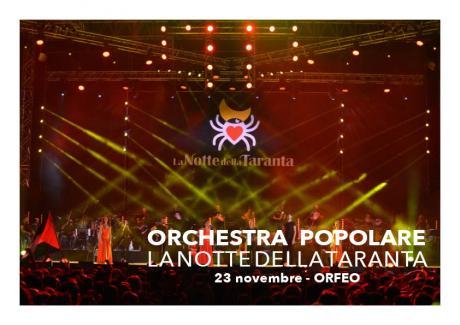 """Orchestra Popolare """"la Notte della Taranta"""""""