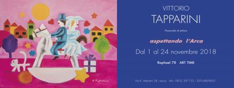 """""""Aspettando l'Arca"""" mostra di VITTORIO TAPPARINI"""