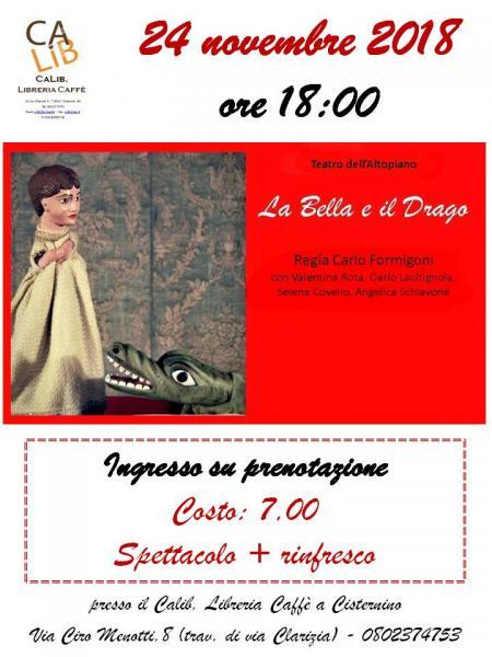 La Bella e il Drago - Spettacolo di Burattini