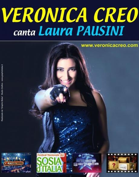 Veronica Creo canta Laura Pausini a Gravina