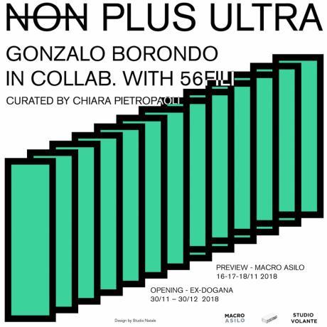 NON PLUS ULTRA: la nuova imponente installazione di Borondo | MACRO ASILO 16 Novembre | EX DOGANA 30 Novembre - ROMA