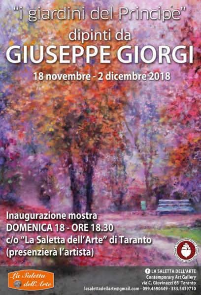 """""""I Giardini del Principe""""  dipinti da  GIUSEPPE GIORGI"""