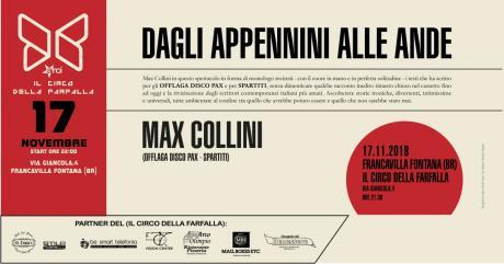 Dagli Appennini alle Ande (di Max Collini)