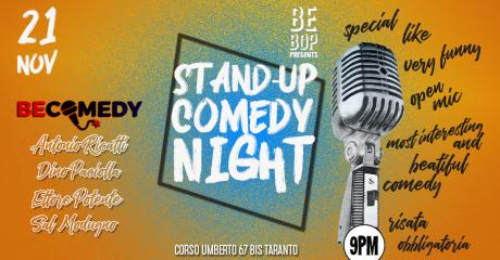 Stand-up Comedy Night at Bebop