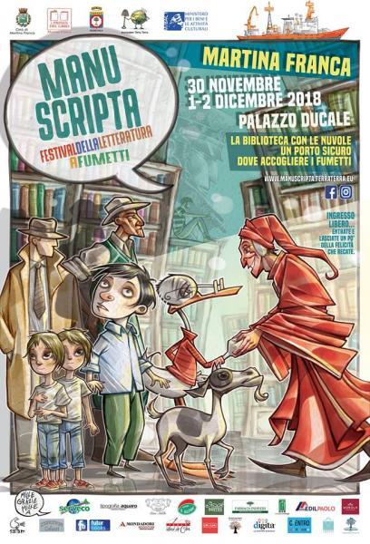 Manuscripta Festival della letteratura a fumetti