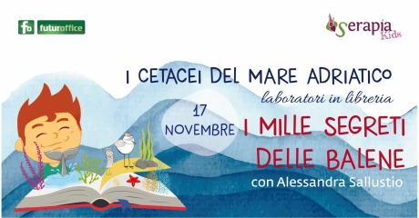 Serapia in Libreria: i cetacei del mar Adriatico