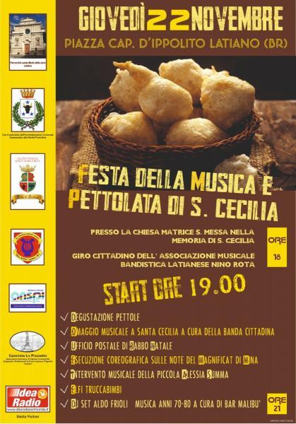 FESTA DELLA MUSICA E PETTOLATA DI S. CECILIA