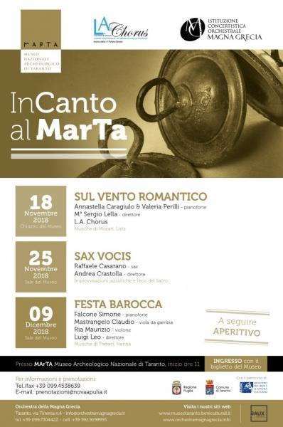 CONCERTI - InCanto al MArTA