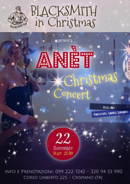 ANÈT Christmas Concert at@BlackSmithPub