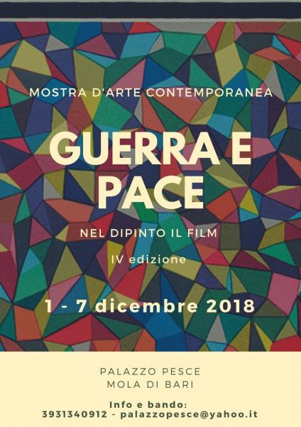 """Mostra Concorso """"Guerra e Pace. Nel dipinto il film"""" IV edizione"""