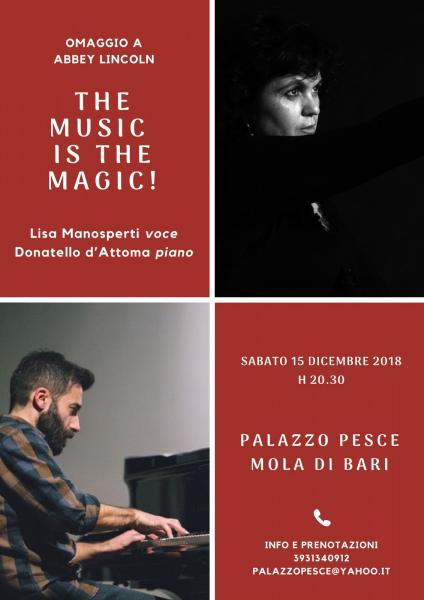 The music is the magic! [omaggio a Abbey Lincoln]
