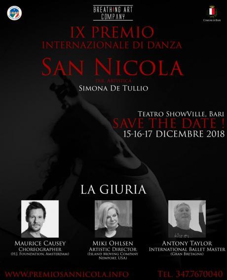 IX PREMIO INTERNAZIONALE DI DANZA SAN NICOLA