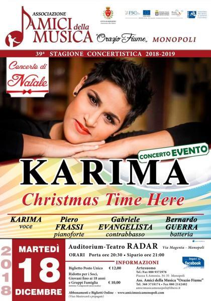Karima - Christmas Time is here