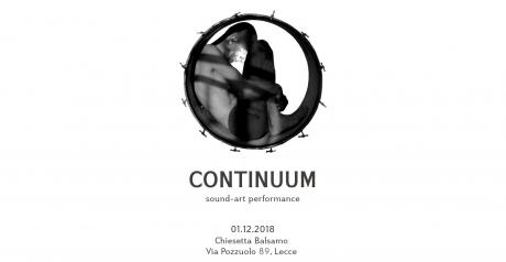 Continuum // sound-art performance di Antez (FR)