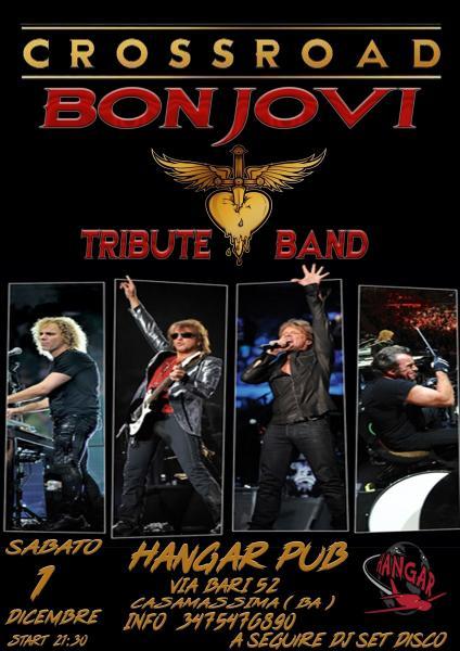 Crossroad Bon Jovi tribute@Live Hangar Pub