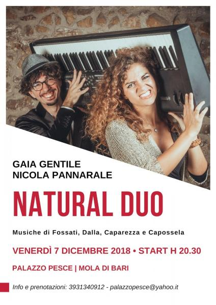 Natural duo [Gaia Gentile e Nicola Pannarale]
