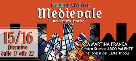 Presepe vivente medievale nel centro storico di Martina Franca