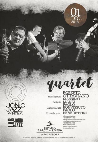 Ottaviano - Manzi - Benedettini - Bonvissuto  quartet