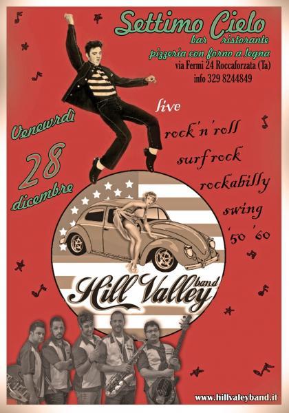 Grande serata live Rock con band Hill Valley