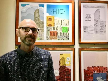 """Roberto Grossi  presenta """"Il grande prato"""""""