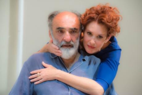 """""""Il Padre"""" con Alessandro Haber e Lucrezia Lante della Rovere"""