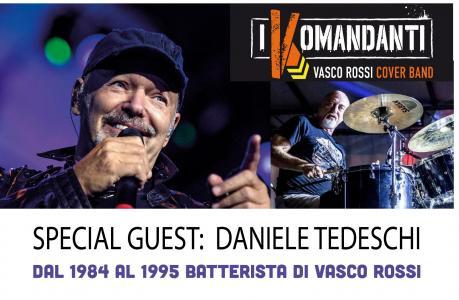 I Komandanti Vasco Rossi cover band con Daniele Tedeschi a Trani