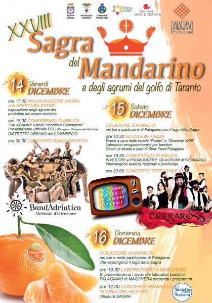 XXVIII^ Sagra del mandarino e degli agrumi del golfo di Taranto 2018.