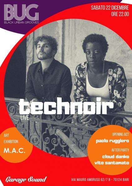 Technoir live • BUG