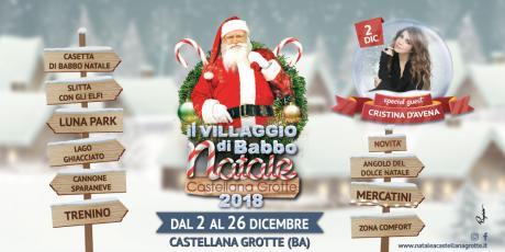 Torna il Villaggio di Babbo Natale di Castellana Grotte