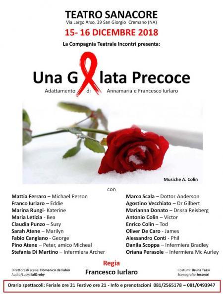 """""""Una gelata precoce"""" adattamento di Annamaria e Francesco Iurlaro"""