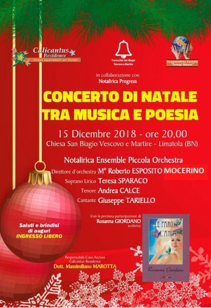 Concerto di Natale tra Musica e Poesia