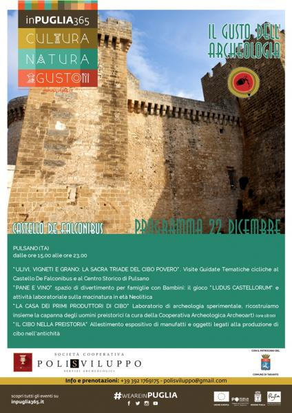 """""""Il Gusto dell'Archeologia"""" InPuglia365 - Il Medioevo rivive nel Castello De Falconibus di Pulsano"""