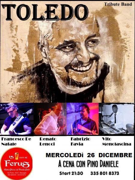 """PINO DANIELE special tribute con i """" TOLEDO """""""