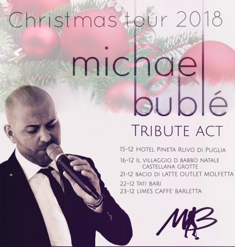 Michael Bublè tribute act duo Christmas live a Molfetta