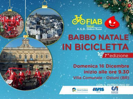 Babbo Natale in Bicicletta ad Ostuni 7° edizione
