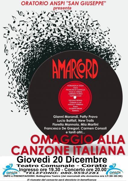 Amarcord / Omaggio alla Canzone Italiana