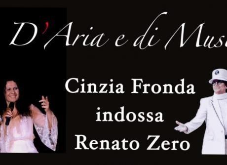 D'aria e di musica... Cinzia Fronda indossa Renato Zero