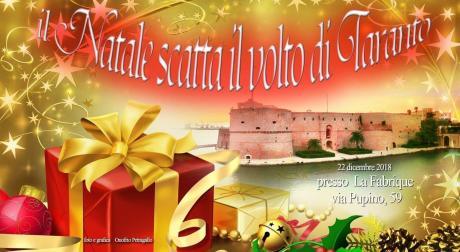 22 dicembre a Taranto, Il Natale Scatta il volto di Taranto