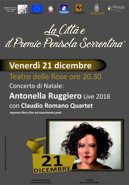 Antonella Ruggiero in concerto