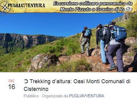 Trekking d'altura: Oasi Monti comunali di Cisternino