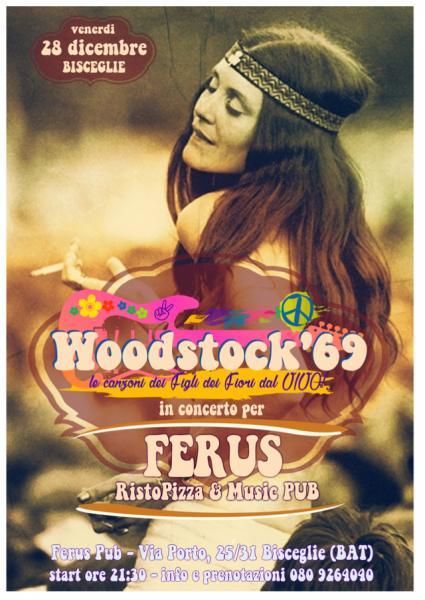 Woodstock 69 - THE ROCK LEGENDS LIVE @ FERUS