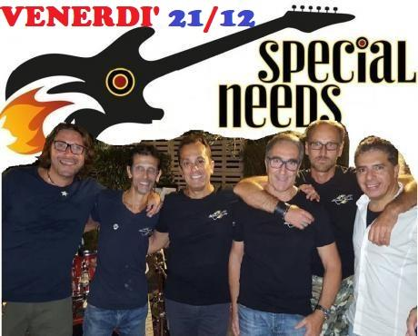 "Special Rock Covers live con gli ""Special Needs"""