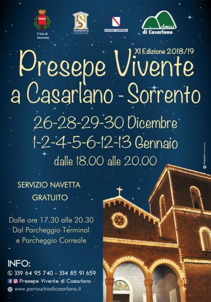 Presepe vivente di Casarlano XI edizione